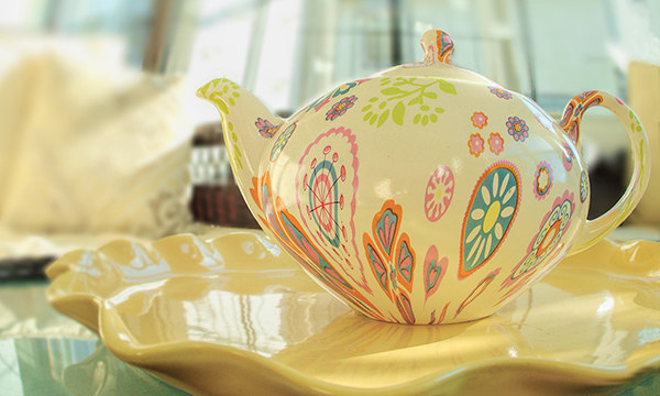 Teapot-fisheye background blur lr