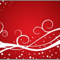 Abstract Christmas wallpaper