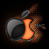 Mac OS X glossy logo in Photoshop