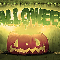 Create a spooky colorful Halloween typography in Photoshop