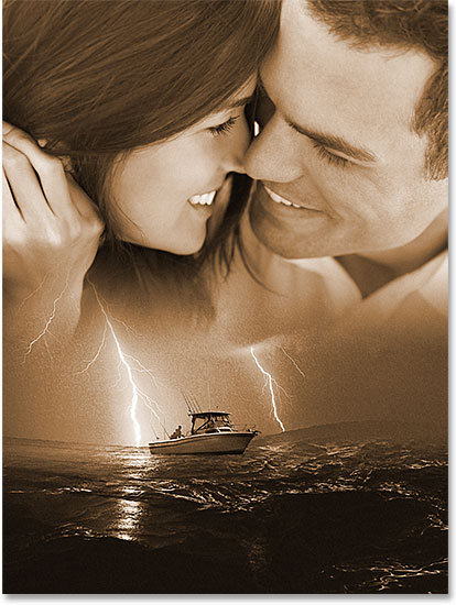 Blend Photos Like A Hollywood Movie Poster With Photoshop CS6