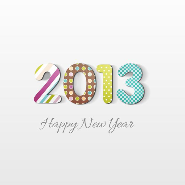 create a new year greeting card in photoshop