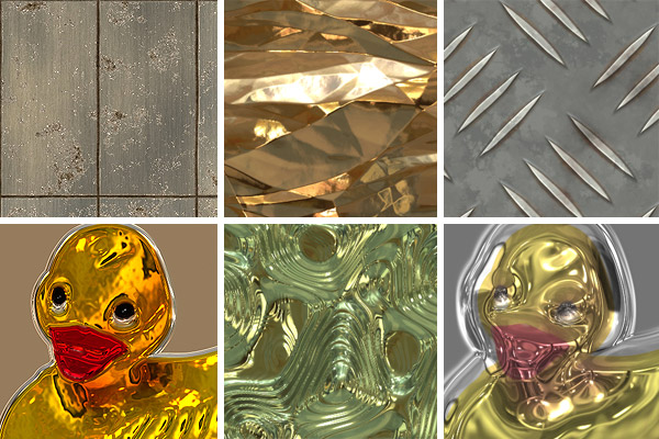Filter Forge metal textures