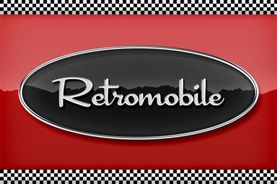 retro chrome emblem