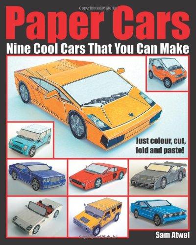 Paper Cars - Photoshop Roadmap