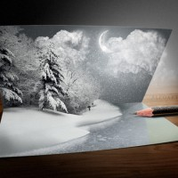 Beautiful Christmas Artwork and Photos Manipulation Tutorials in Photoshop