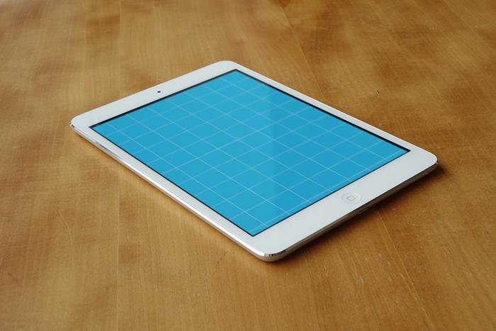 iPad Mini Mockup Before