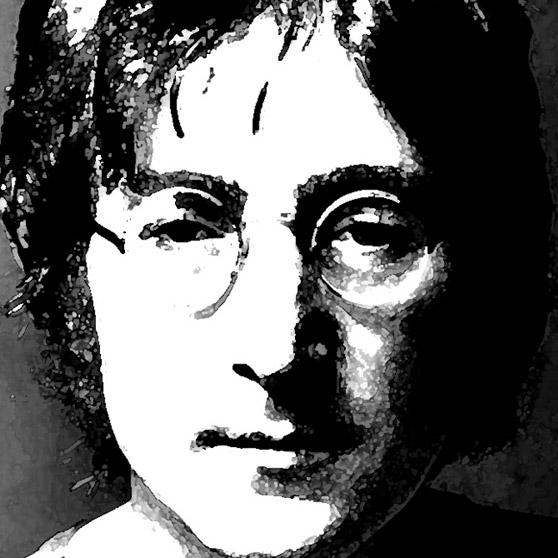 Line Drawing John Lennon : Create a colorful grunge john lennon portrait in photoshop