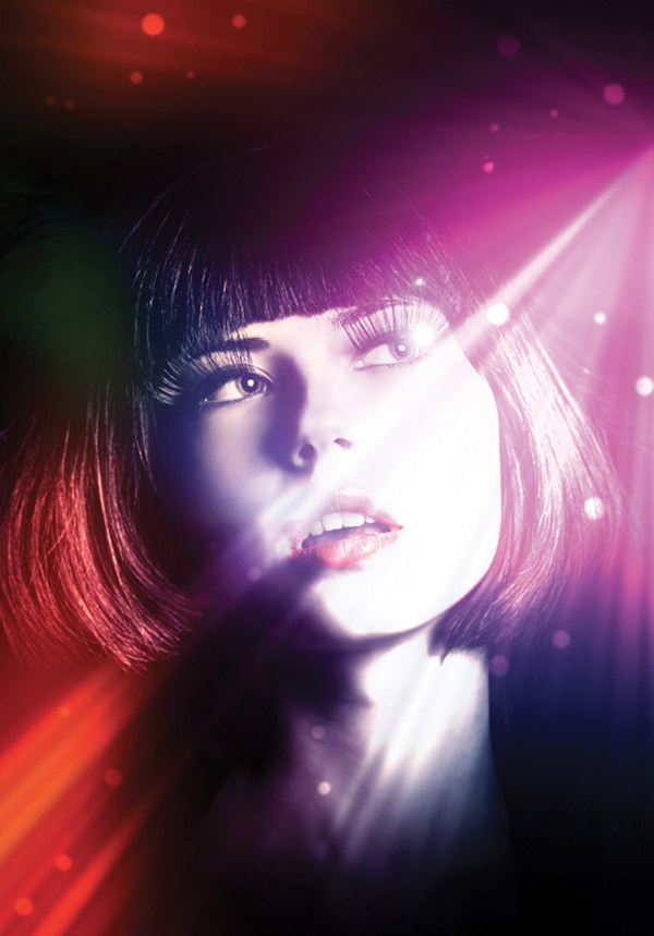 how to add lighting effects in photoshop