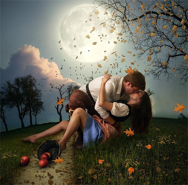 romantic scene