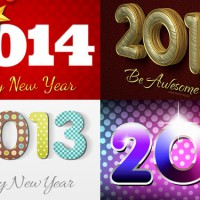 New Year Celebration Artworks Photoshop Tutorials