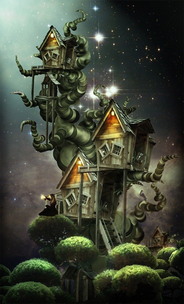 Surreal Treehouse