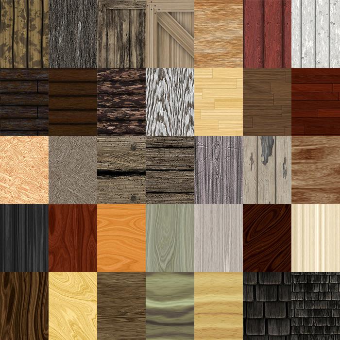 woods textures