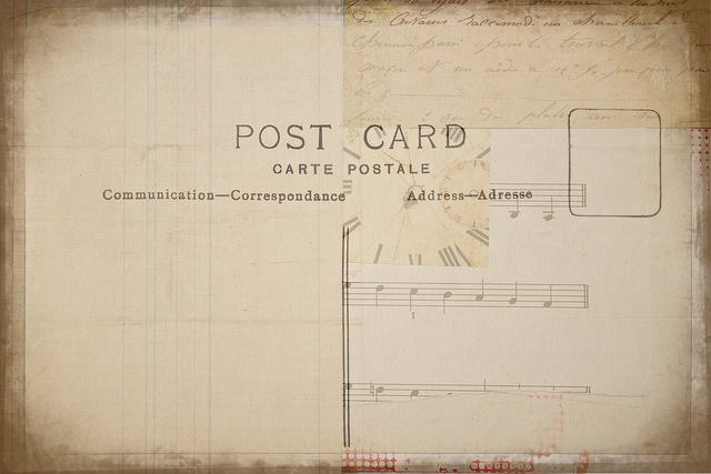 postcard textures