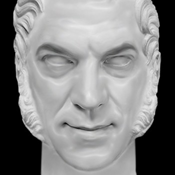 Photoshop: Make a Marble Sculpture Bust from a Photo - YouTube thumbnail