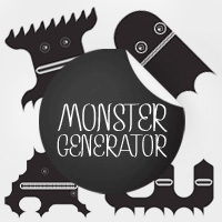 Free Monster Generator Font by Fenotype