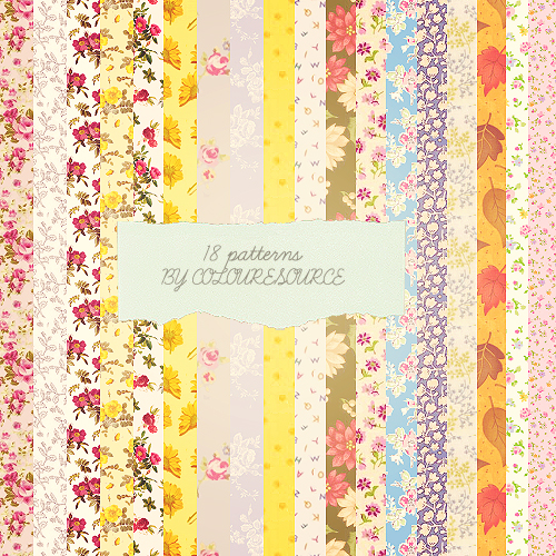 Download colorful illustrated patterns